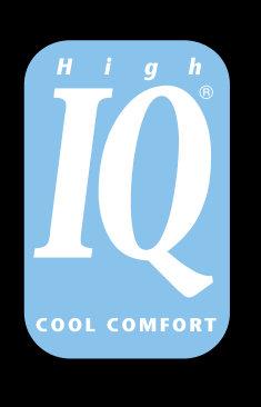 A High IQ Cool Comfort technológia védjegye