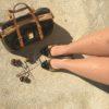 Saját fotóm- Lipoelastic 140 DEN-es Smooth harisnyanadrág élőben, homokszínű változatban