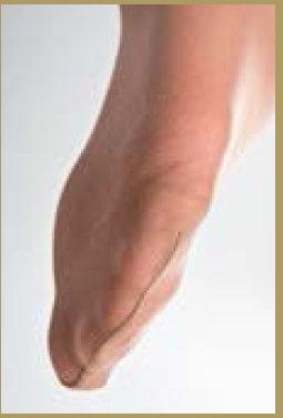Lipoelastic Harmony harisnyanadrág megerősített lábujjrész
