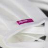 Lipoelastic textilmaszk, fehér színű